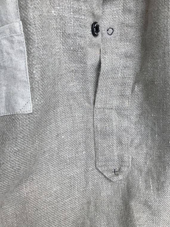 Linen Shirt Dream FANT Flax detail