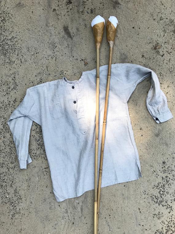 Linen Shirt Dream FANT Stone