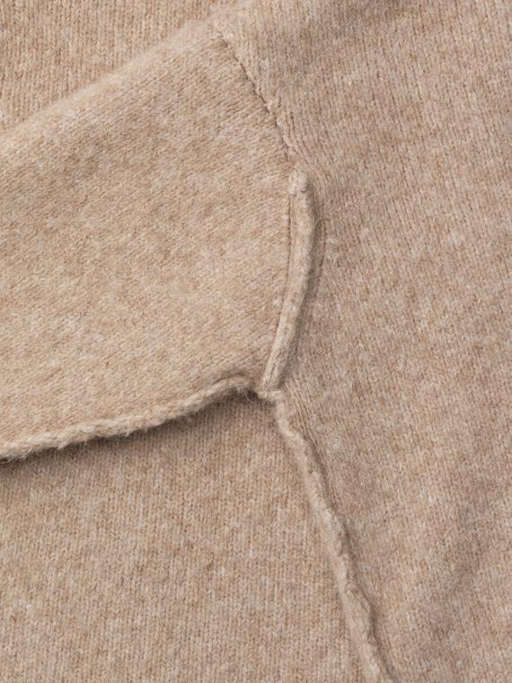 teddy sweater aiayu shop online detail llama wool