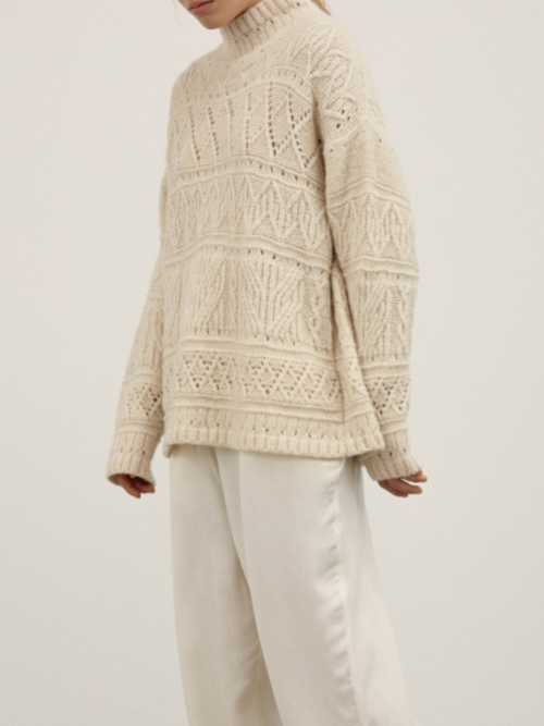 blanco sweater aiayu shop online detail