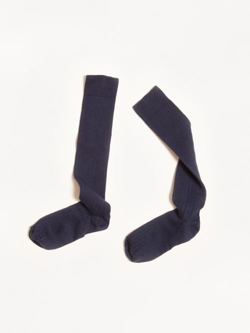 organic cotton socks collegien socks online Nuit Etoilee Dark Blue