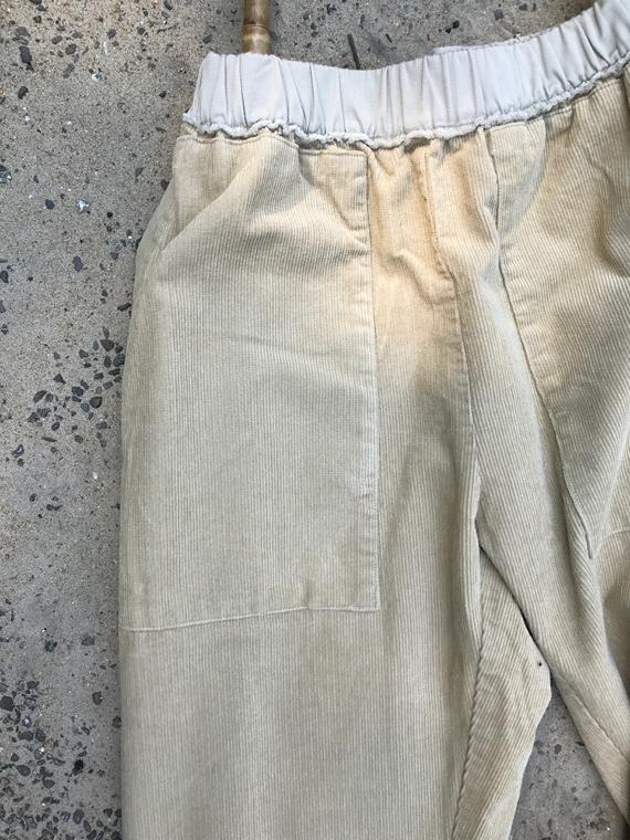 corduroy pants fant shop online front detail pocket
