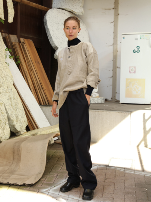 woolen pants stream fant shop online editorial